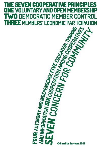 The Seven Cooperative Principals